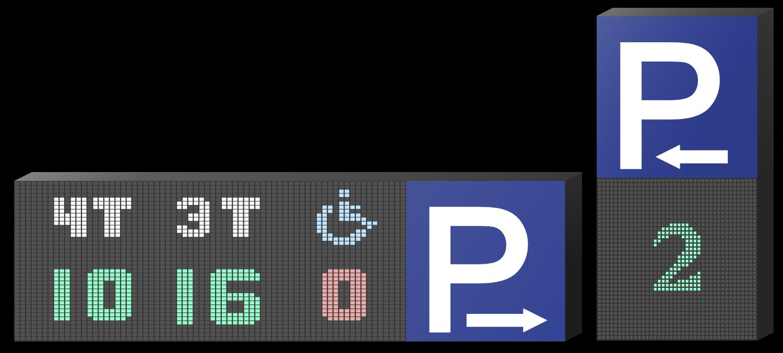 p-skilt Banner